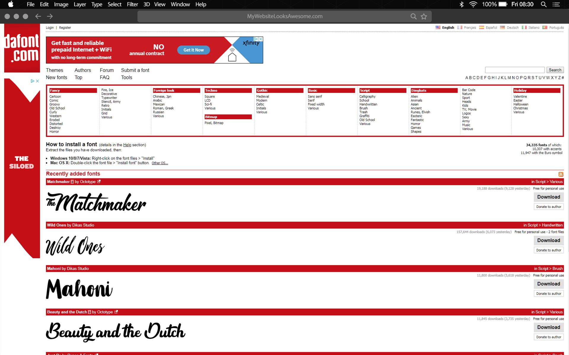 Britt Phillips Responsive Website Design | Web Designer | Web Designs